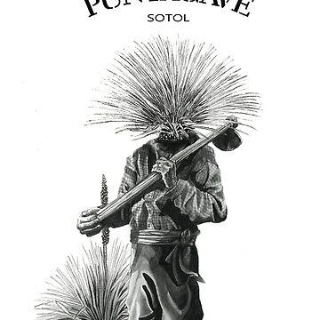 PUNTAGAVE RUSTICO SOTOL - EL CHAMAN DEL DESIERTO  by donfulano