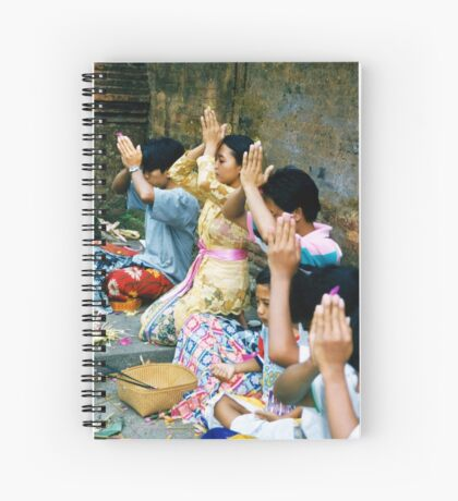 Prayers & Offerings Spiral Notebook