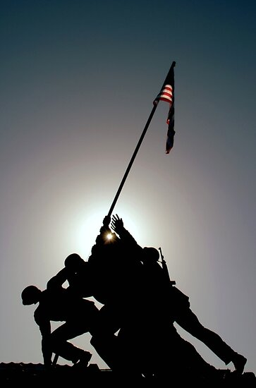 ~Iwo Jima Memorial~ by a~m .