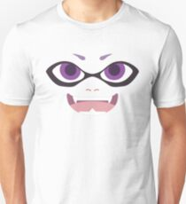 Inkling Face (purple) T-Shirt