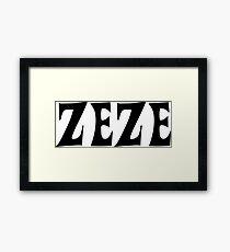 Zeze Framed Print