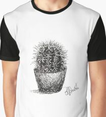 Cactus - Sketch by Laura Jaen Graphic T-Shirt