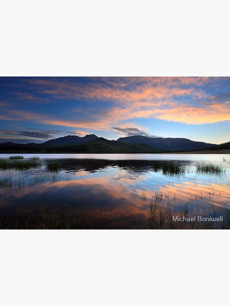 Dawn Reflections, Mount Buffalo, Australia by Chockstone