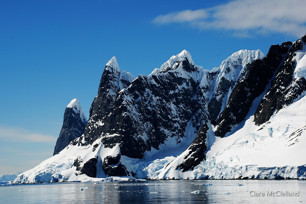 Cape Renard, Lemaire Channel, Antarctic Peninsula by Clare McClelland