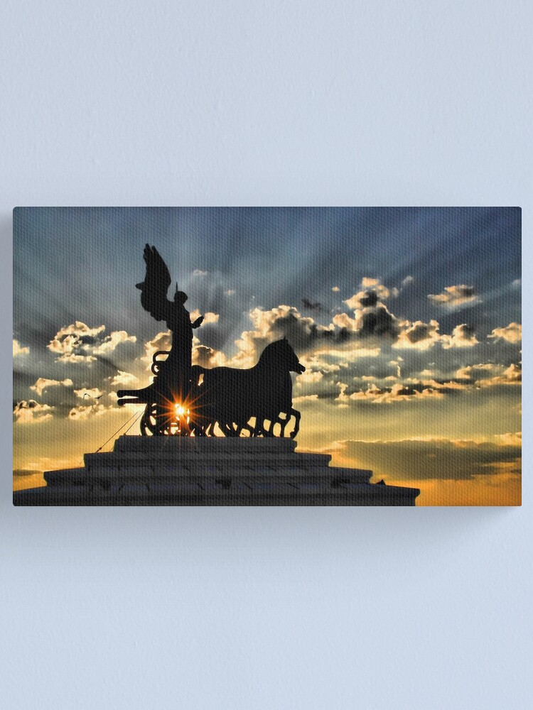 Alternate view of Altare della Patria Canvas Print