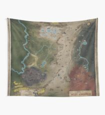 Fallout 76 Map Wall Tapestry