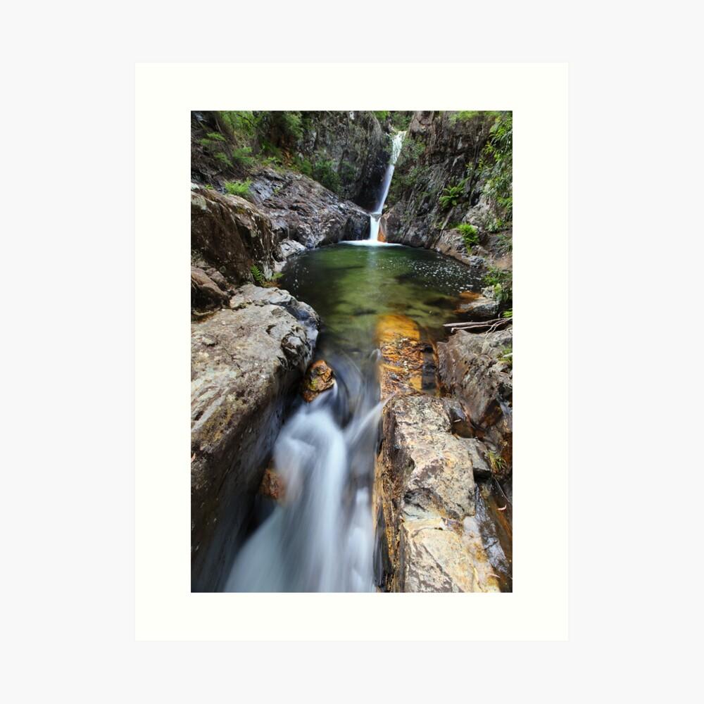 Rollason Falls, Mount Buffalo, Australia Art Print