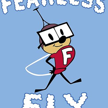 Fearless Fly Shirt by TV-Eye-On-Me
