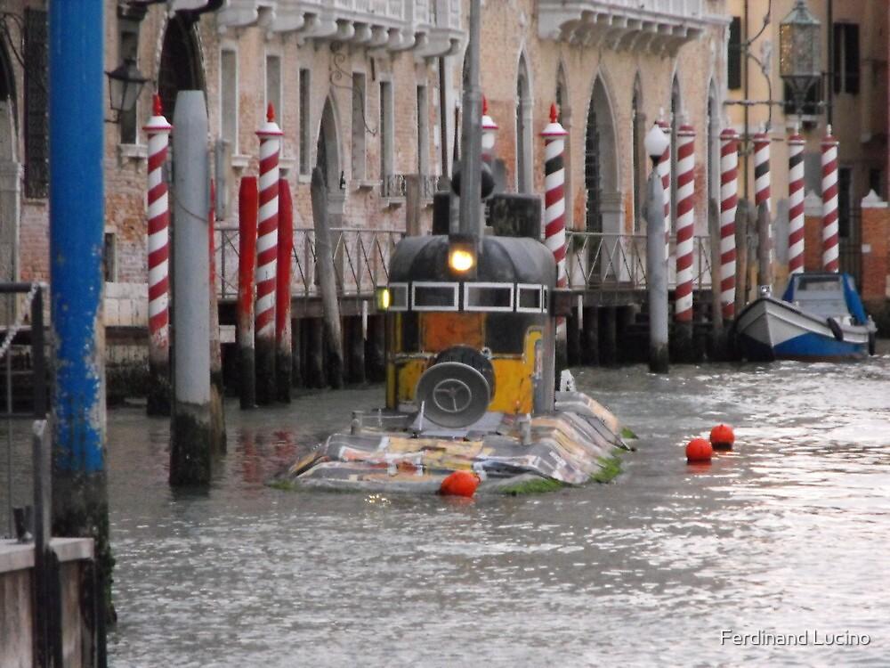 Yellow Submarine in Venice by Ferdinand Lucino
