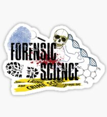 Forensic Science Compilation Sticker