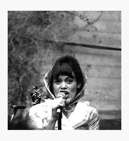 The Roofies Lead Vocalist Photographic Print