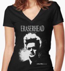 Eraserhead T-Shirt Women's Fitted V-Neck T-Shirt