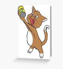 Tuna Cutie Greeting Card