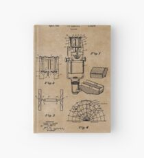 Sound Equipment Vintage Patent Prints Hardcover Journal