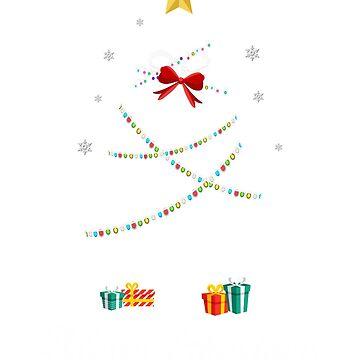 Christmas Light Porcupine Tree T Shirt Gifts Women Men Kids by kelvil