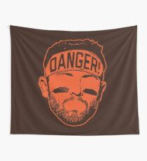 Danger! Wall Tapestry