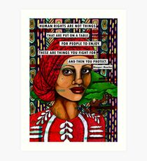 Wangari Maathai Art Print