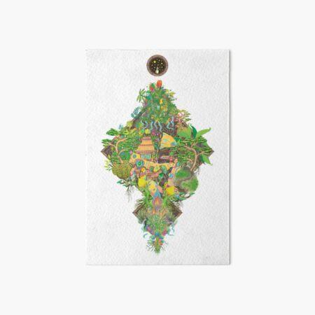 Junk Garden Art Board Print