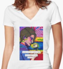Sophie Scholl Women's Fitted V-Neck T-Shirt