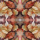 Leaf Mandala no 12 by Lisbeth Thygesen