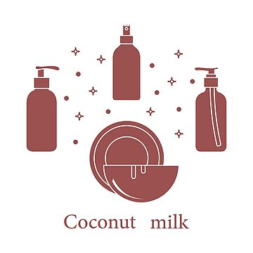 Coconut milk for cosmetics and care products. by aquamarine-p