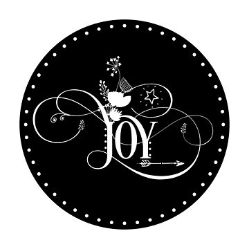 Inspirational Quote - Joy by IN3PIRED