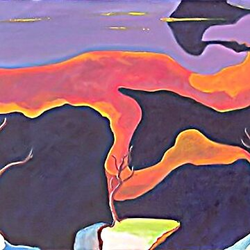 Our Barren Land Abstract by TeAnne