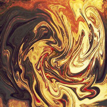 Abstract painting by tamaya111