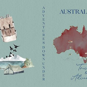 Australia Hardback Travel Journal by broadmeadow