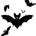Halloween Bats by AnnArtshock