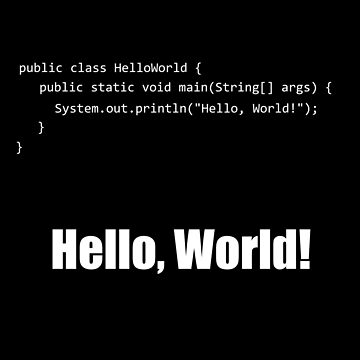 Hello World Java by overstyle