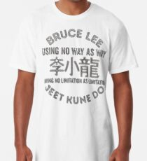 Bruce Lee Jeet Kune Longshirt