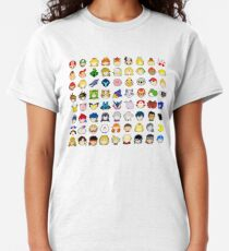 Super Smash Bros Ultimate Character Stock Icons - Franchise Order (Arrangement 3 of 4) Classic T-Shirt