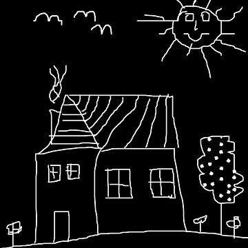 Home Sweet Kid Drawing by overstyle