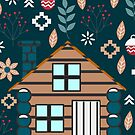 Winter cottage by cocodes