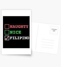 Naughty Nice Filipino Postcards
