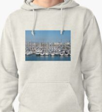 Port Olimpic in Barcelona Pullover Hoodie