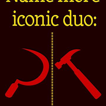 Name more iconic duo by mensijazavcevic