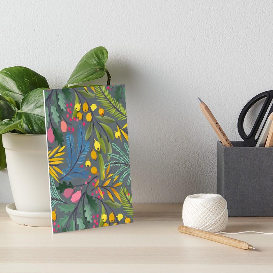 Fairy's garden Art Board Print