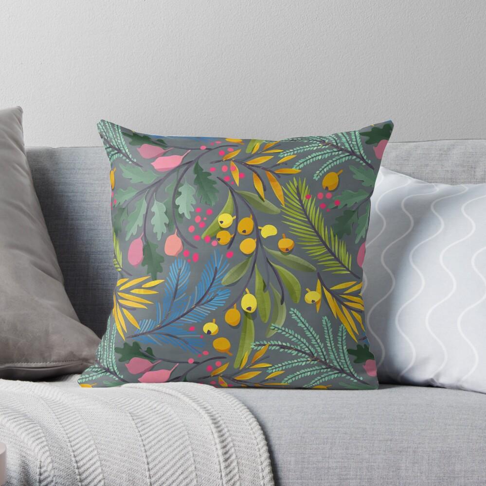 Fairy's garden Throw Pillow