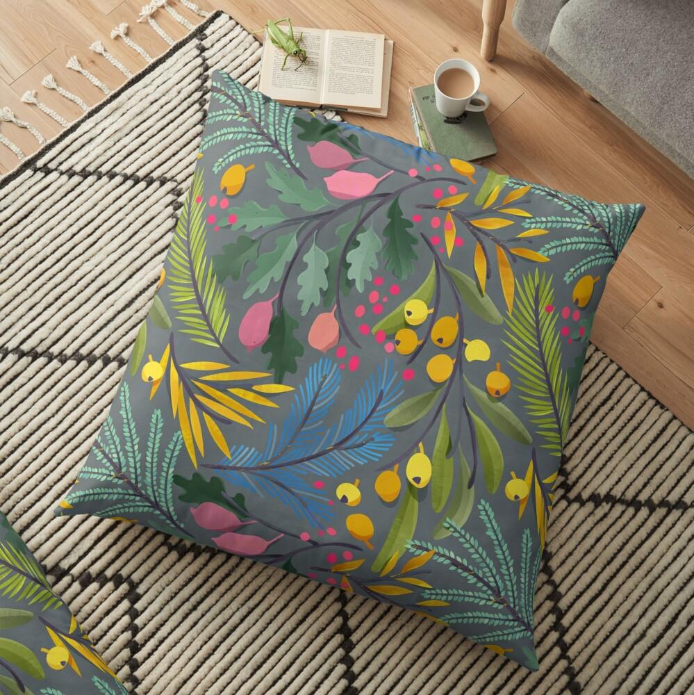 Fairy's garden Floor Pillow