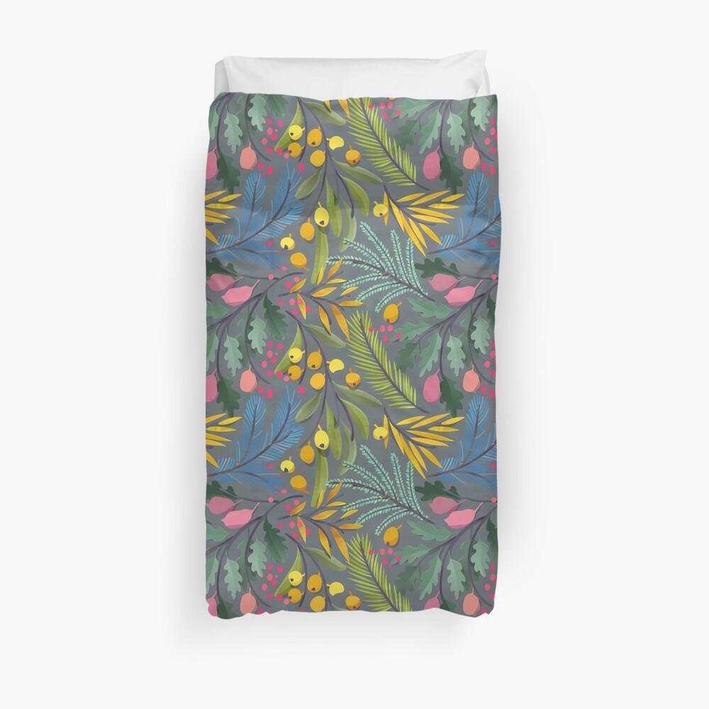 Fairy's garden Duvet Cover