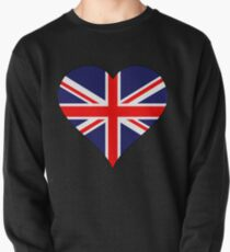 Great Britain - heart Pullover