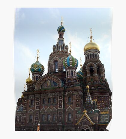 The Church of the Savior on Spilled Blood. Poster