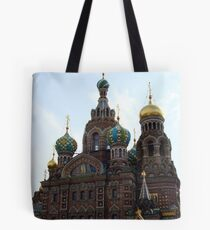 The Church of the Savior on Spilled Blood. Tote Bag