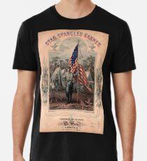 American Civil War, Poster, Star Spangled Banner, America, American, USA, United States Premium T-Shirt