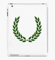 Laurel wreath, Laurels,  sport, sports, win, wins, winner, winning, won, glory, glorious. iPad Case/Skin