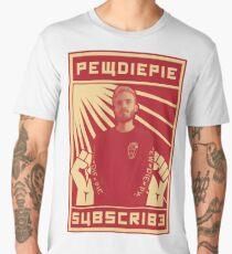 Subscribe to Pewdiepie Men's Premium T-Shirt