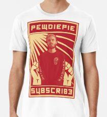 Abonnieren Sie Pewdiepie Männer Premium T-Shirts