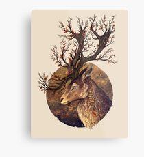 Autumn Embers Metal Print